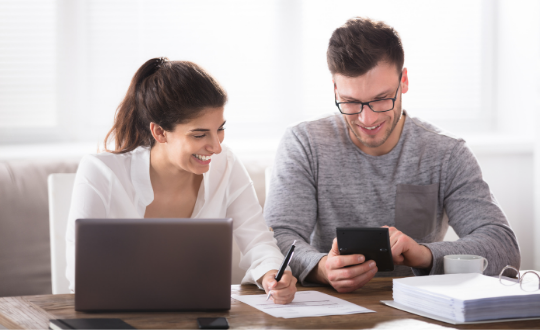 First time buyers choosing a mortgage